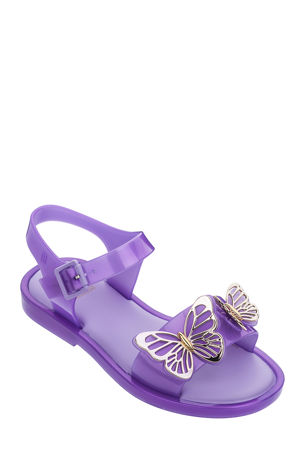 Mini Melissa Mel Mar Butterflies Sandals, Baby/Kids