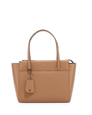 Brown Pocket Tote Bag | Neiman Marcus