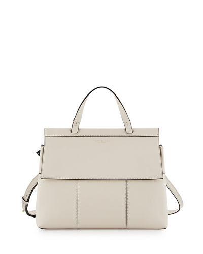 Block-T Top-Handle Satchel Bag