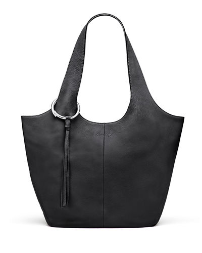 Finley Leather Shopper Bag