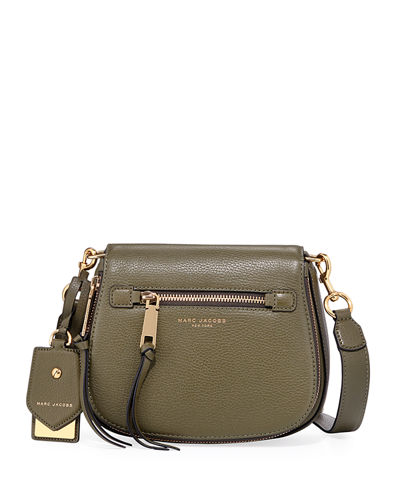 Recruit Small Leather Saddle Bag