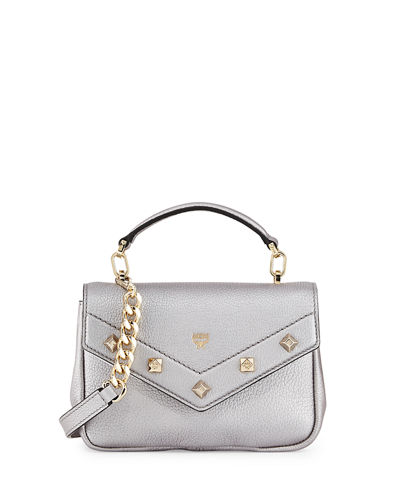 Catherine Mini Leather Crossbody Bag