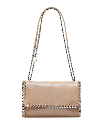 Falabella Shiny Chain-Trim Crossbody Bag