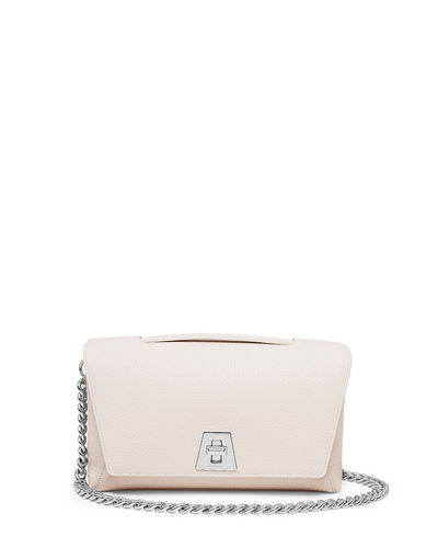 Akris Leather Chain-Strap Flap Bag