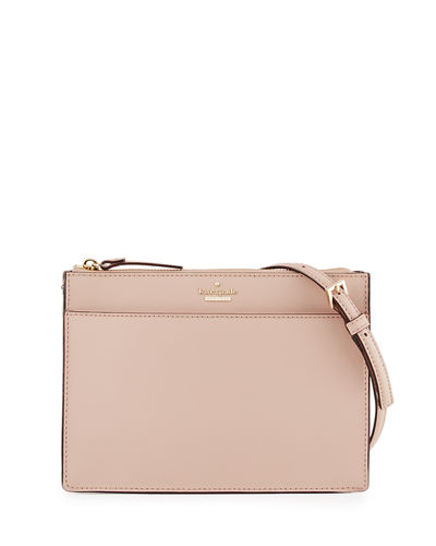 cameron street clarise leather clutch bag