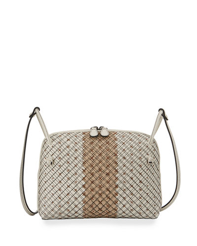 Pillow Club Cross-Grid Crossbody Bag