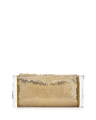 Edie Parker Soft Lara Mesh Clutch Bag