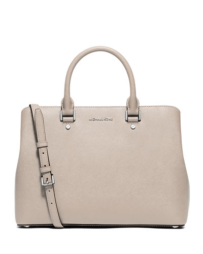 Savannah Large Saffiano Satchel Bag