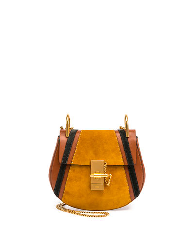 Drew Mini Patchwork Shoulder Bag