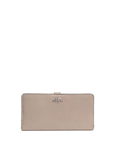 Coach Madison Skinny Leather Wallet
