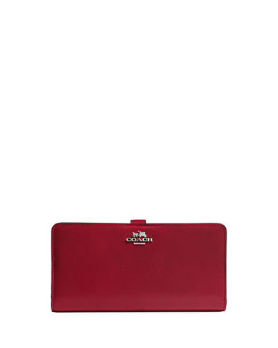 Madison Skinny Leather Wallet
