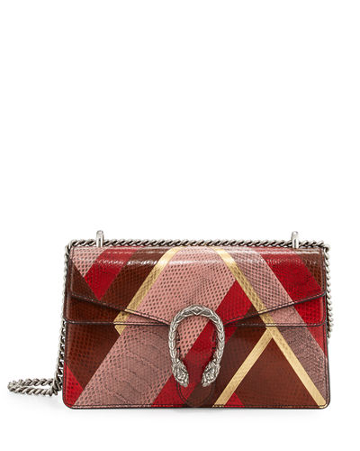 Dionysus Small Patchwork Chain Shoulder Bag