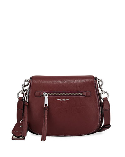 Recruit Leather Saddle Bag