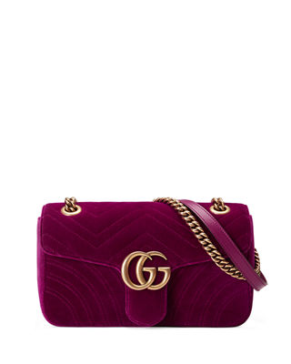 gucci bags small. gg marmont small quilted velvet crossbody bag gucci bags n