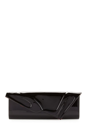 Christian Louboutin So Kate Patent East-West Clutch Bag