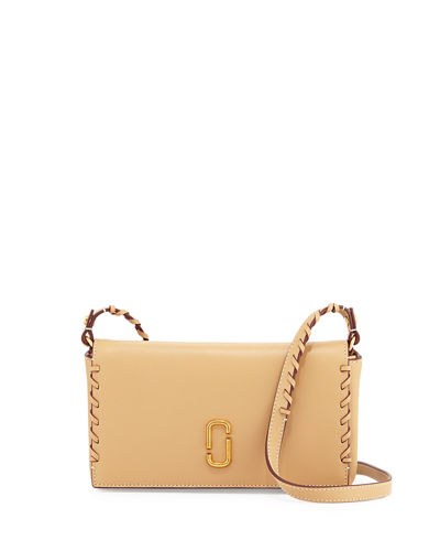 Noho Whipstitch Leather Crossbody Bag