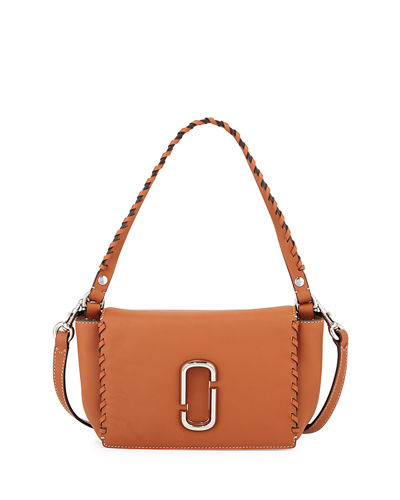 Marc Jacobs Noho Whipstitch Leather Crossbody Bag