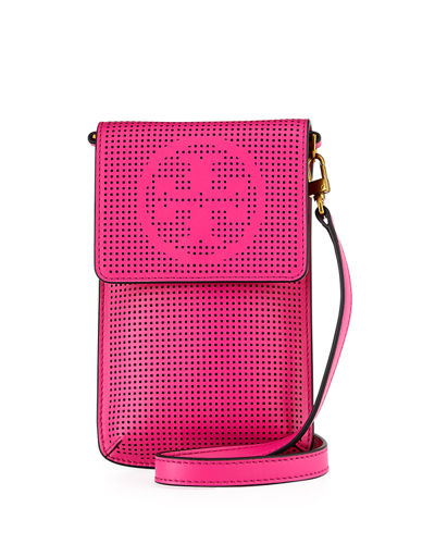 Perforated Crossbody Phone Case