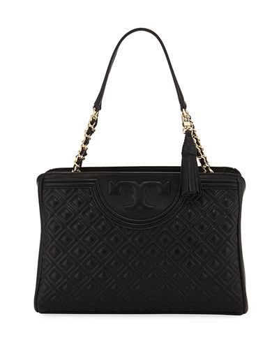 Fleming Diamond-Quilted Shoulder Bag