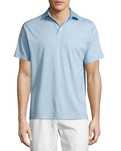 Crown Melange Polo Shirt