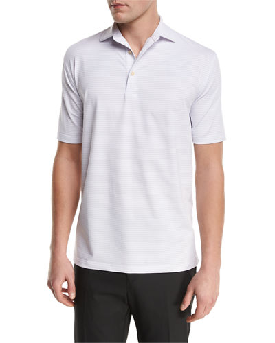 Sean Chesapeake Striped Jersey Polo Shirt