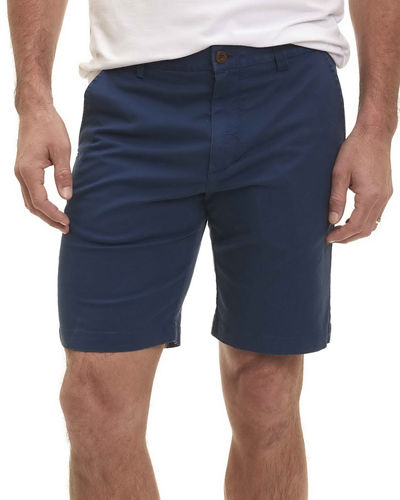 Pioneer Cotton Twill Flat-Front Shorts
