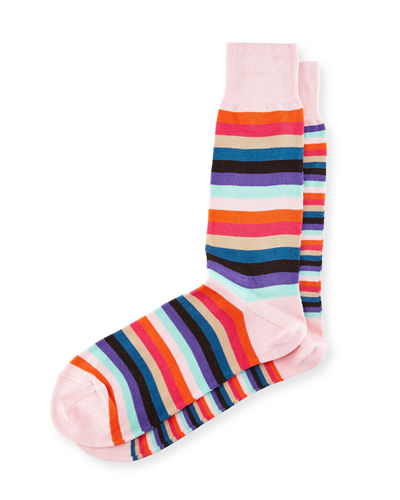 Odd-Striped Socks