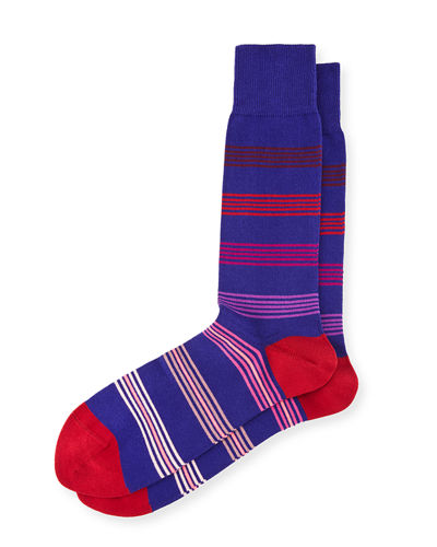 Ladder-Striped Socks