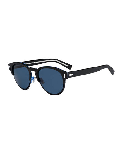Black Tie 2.0SJ Round Sunglasses