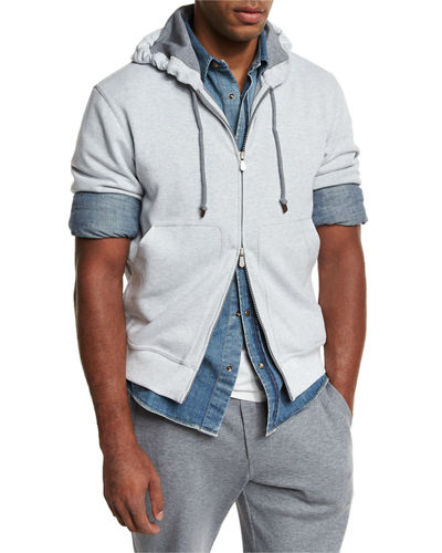 Cotton Spa Zip-Up Hoodie