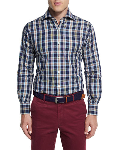 Teton Plaid Oxford Shirt
