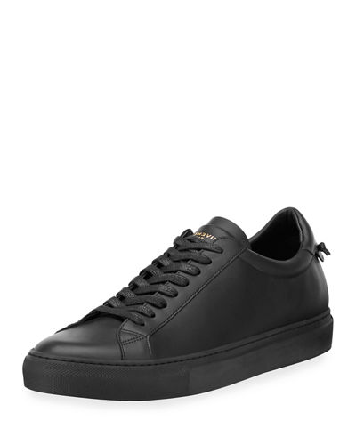 Urban Men's Leather Low-Top Sneaker