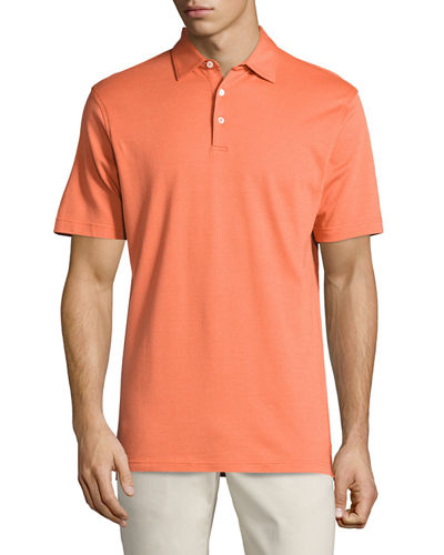 Collection Perfect Pique Polo Shirt, Clementine