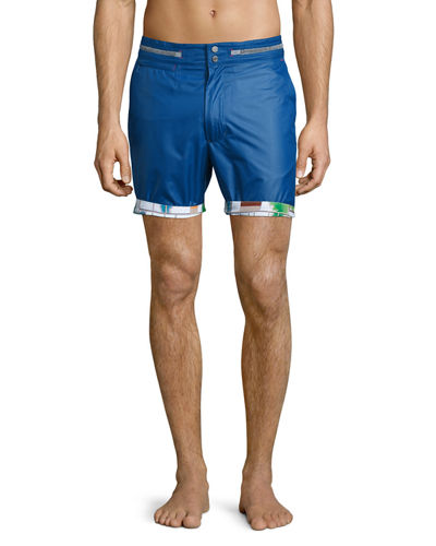 Disembark Solid Swim Trunks