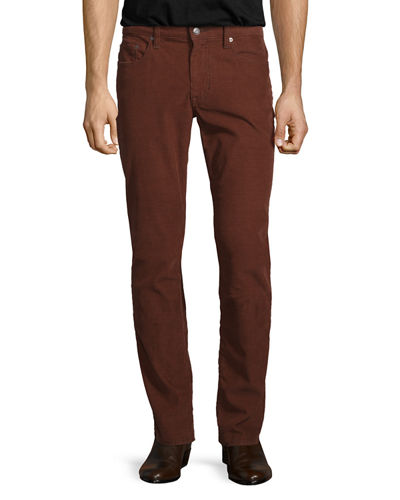 718 Slim-Fit Corduroy Pants