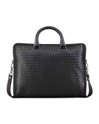 Softie Slim Woven Briefcase
