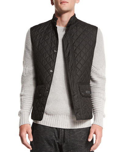 Technical Quilted Vest