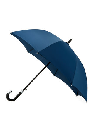 ELITE CANE UMBRELLA, BLACK, NAVY