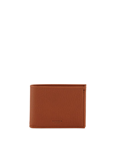 Slim Leather Bifold Wallet