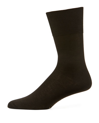 Firenze Solid Knit Socks