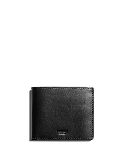 Shinola Classic Leather Bifold Wallet