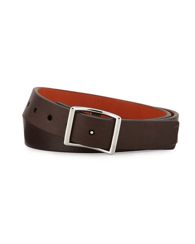 Shinola Reversible Leather Belt