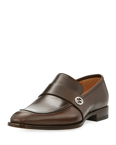 Gucci Broadwick Leather Loafer