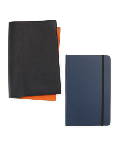 Shinola Journal Set with Leather Cover