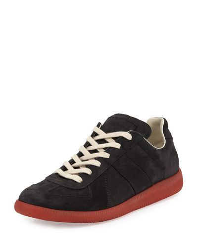 Maison Margiela Replica Leather Low-Top Sneaker