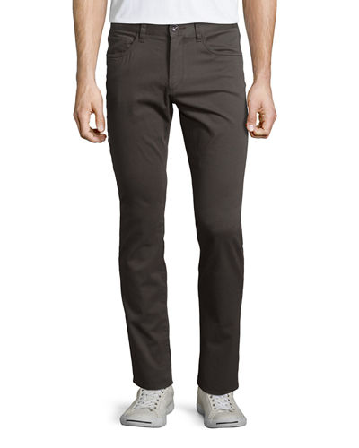 Essential Five-Pocket Twill Pants