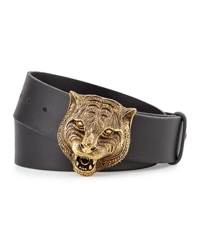 661dbf64b Belt With Interlocking G Buckle · Gucci Blet: Gucci Men's Belts : Leather &  Buckle Belts At Neiman Marcus