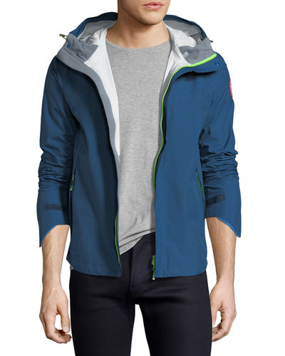 Alderwood Hooded Nylon Shell Jacket