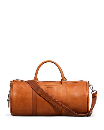 Shinola Medium Leather Duffle Bag