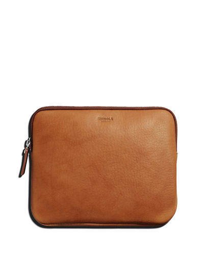 Shinola Leather Portfolio Case, 10.2